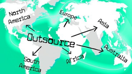 Major decisions taken prior to outsourcing business practices